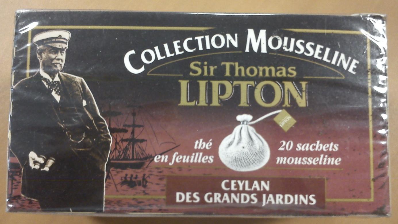 Een van de bekendste merken is dat van Lipton - Een goed voorbeeld van Brand Key model