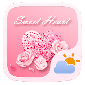 Sweet Heart GO Weather Widget