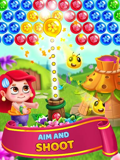 Flower Games - Bubble Shooter 3.7 screenshots 9