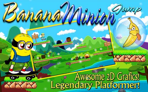 Banana Minion Jump