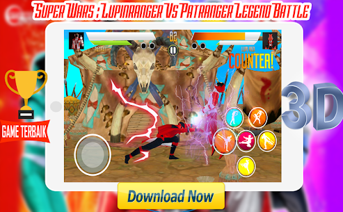 Super Wars : Lupin Vs Patra Legend Battle Apk Latest Version Download For Android 4