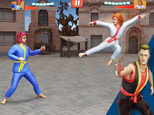 Tag Team Karate Fighting Tiger: World Kung Fu King screenshots 13