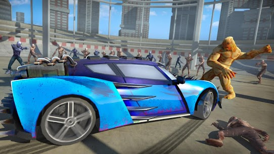 Zombie Smash : Road Kill MOD (Unlimited Money/All Cars Open) 5