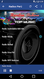 Radio Ritmo Romantica Peru Screenshot