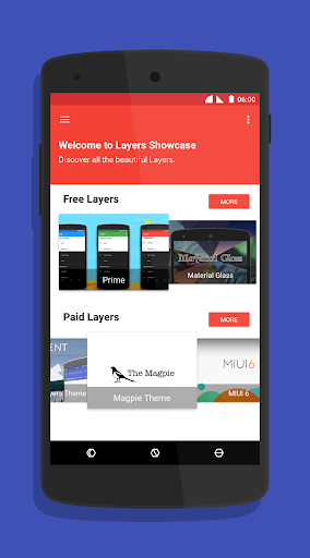 Layers Showcase