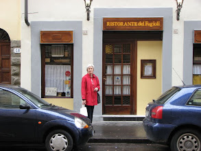 Photo: A traditional Tuscan ristorante in Florence, Fagioli is a member of the slow foods movement