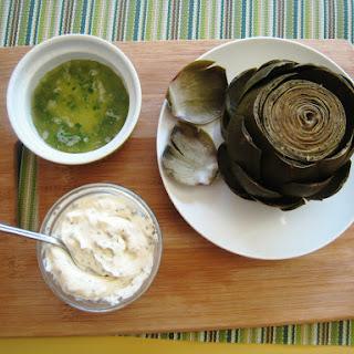 Lemon Butter Sauce for Artichokes