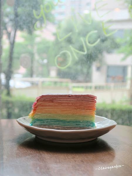 桃園 藝文特區 早午餐 袋鼠咖啡GEMI Cafe~抓到你了彩虹~千層蛋糕
