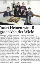 Photo: Youri Heinen wint B-groep Van der Wiele 10 juni 2010