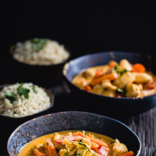 Authentic Thai chicken curry