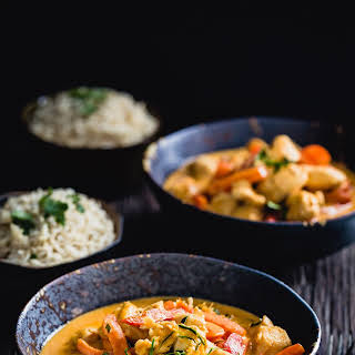 Authentic Thai chicken curry.