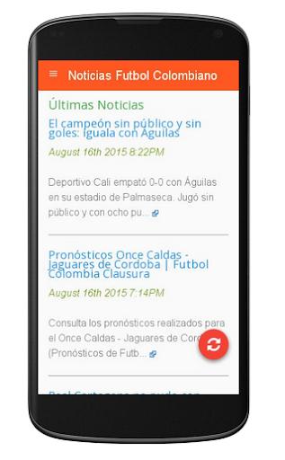 Noticias Futbol Colombiano