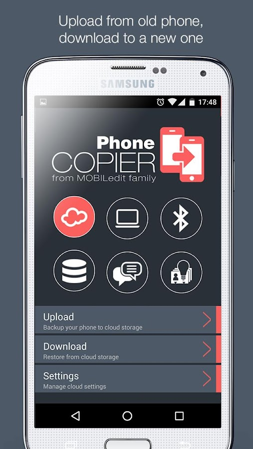 Phone Copier - MOBILedit- screenshot