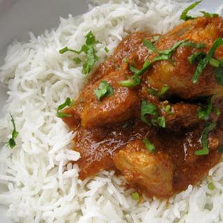 Chicken Curry in the Pakistani Manner (Murghi ka Saalan).