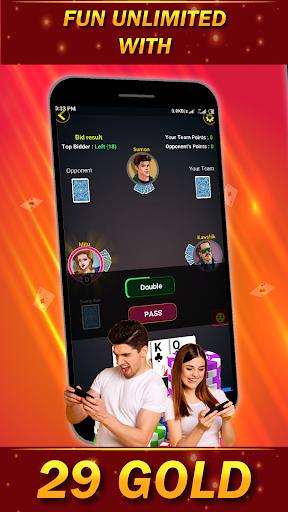 29 Card Game ( twenty nine ) Offline 2020 3.8 screenshots 6