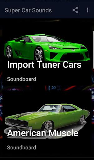 Car Sounds Ringtones HD 2 screenshots 2