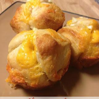 Cheesy Garlic Pull Apart Muffins