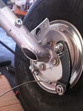 Photo: réglage câble frein