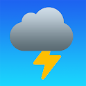 Thunderstorm - Distance from Lighting icon