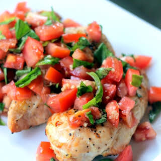 Skinny Bruschetta Chicken.