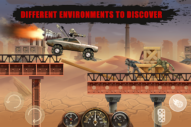 Hill Zombie Racing - Earn To Climb APK screenshot thumbnail 3
