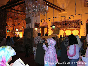 Photo: Konya - Mausoleum interieur