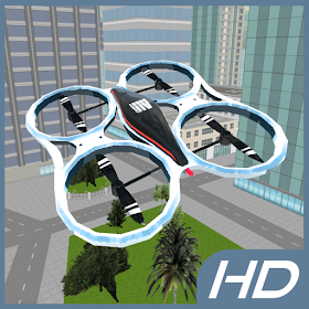 City Drone Flight Simulator