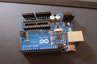 Photo: arduino uno without IC