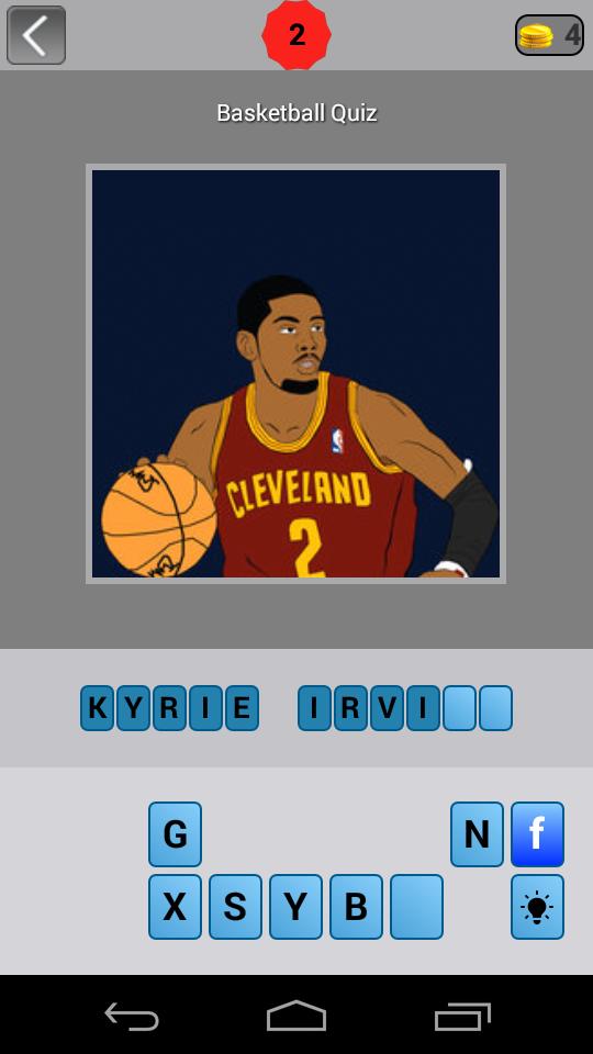 Скриншот Guess: Basketball Trivia Quiz