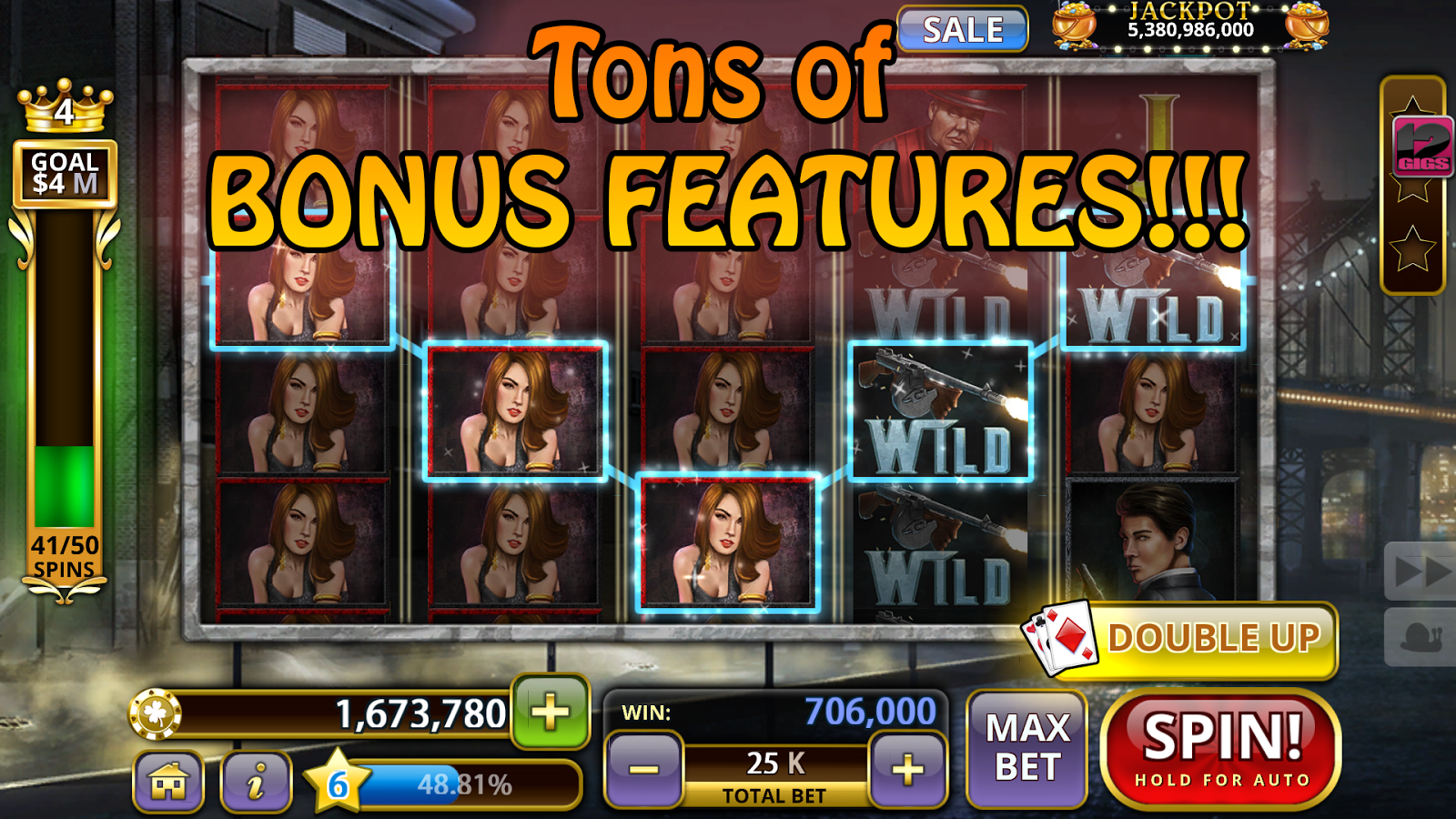 Sizable Win Slot Machine - Play Now for Free or Real Money