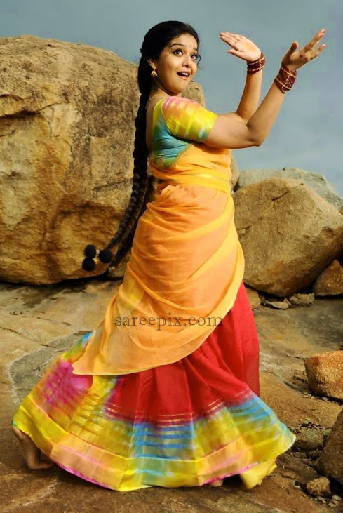Colors-Swathi-body-outfit-in-half-saree