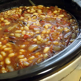 The Best Ever Slow Cooker Baked Beans
