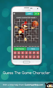 Guess The Game Character for PC-Windows 7,8,10 and Mac apk screenshot 4