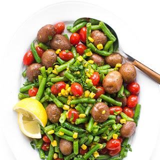 Corn Potato Green Bean Salad Recipes