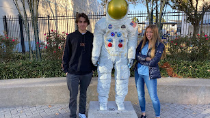 Leonardo del Foco y María Barten, alumnos del SEK Alborán.
