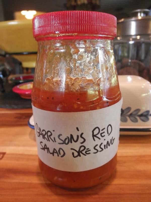 Garrison's Red Salad Dressing Recipe