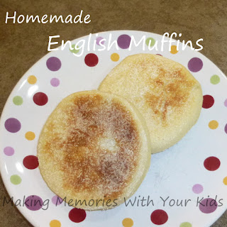 Homemade English Muffins (in a Bread Machine).