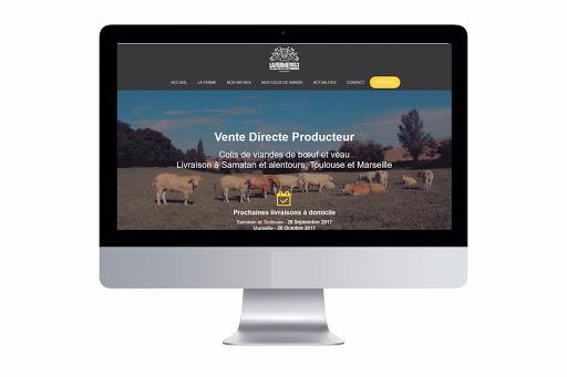 site iinternet la ferme des 3 vaches