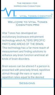 Vital Tones Cognition - náhled