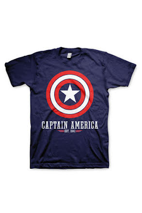 T-shirt, Captain America