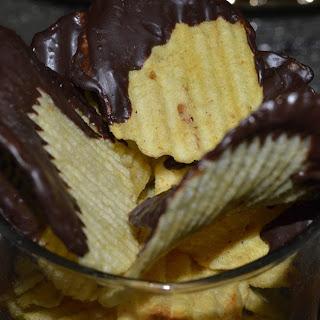 Chocolate Potato Chips