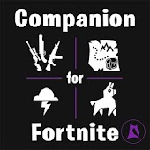 Companion for Fortnite (Stats, Map, Shop, Weapons)