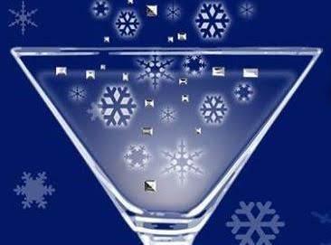 Snowball Martini Recipe