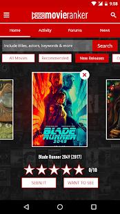 Movie Ranker - náhled