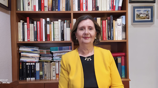 María Dolores Durán, oradora de Los Coloraos 2020