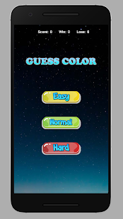 Guess Color | PASS CODE - náhled