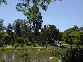 Photo: Japanese Gardens - a gift from the Japanese community to Buenos Aires