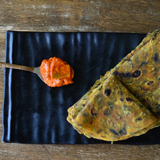 North Indian Style Methi Paratha ( Fenugreek Flatbread)