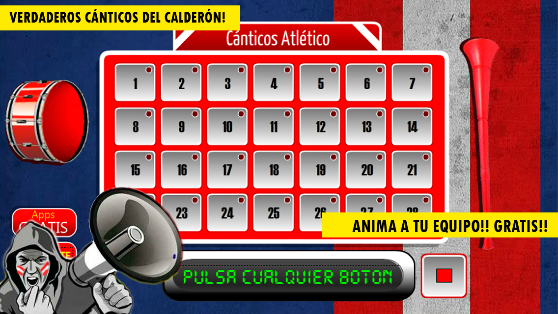 Cánticos Atlético- screenshot