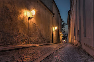 Photo: When the city sleeps  I love little streets outside the major tourist paths in Prague. They look so mysterious and moody.  +Moody Monday curators: +Philip Daly +Carole Buckwalter +Leading Lines Monday curators +Pam Chalkley-Boling +Michael Stuart +Elle Rogers +David Murphy